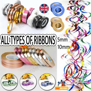Balloon Curling Ribbon String 50 meters Ballons Tie String Ribbon party UK