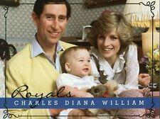 ~~~ ORGINAL~~~ POSTKARTE ~~~ Prinzessin Diana mit William