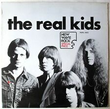 THE REAL KIDS 1977 Italian WHITE LABEL PROMO RED STAR RECORDS 1st press MINT-!