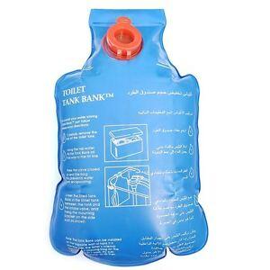 Toilet Tank Bank Flush Cistern Insert Water Saving Device