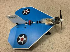 RC Model Airplane 0.25 Thunder Tiger GP Nitro Engine ARF custom elevon wing R/C