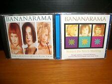 BANANARAMA - Robert De Niro's Waiting + The Greatest Hits Collection MINT CD