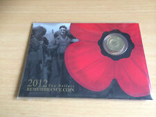 2012 Gold Poppy in Card UNCirculated. Hurry and grab a bargain