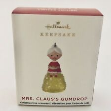 Hallmark 2020 Mrs. Claus's Gumdrop Ornament Limited Edition Miniature Ornament