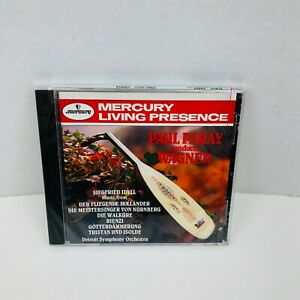 Paul Paray Conducts Wagner Overtures CD Mercury Living Presence New Sealed