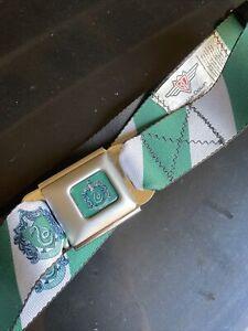 Buckle Down Seatbelt Belt Harry Potter Slytherin