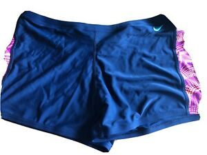 NWT NIKE PERFORMANCE SWIMWEAR COMPETITION FAR OUT SQUARE LEG SIZE 36/$44