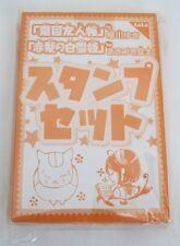Natsume Yuujinchou Book of Friends Akagami no Shirayuki Hime Nyanko Sensei Stamp