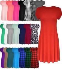 Unbranded Short Sleeve Tea Dress Dresses for Women