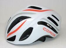 Coros Linx Smart Cycling Helmet, White/Orange/Grey Gloss, LG - USED