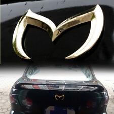 For Mazda 3D Metal Golden Batman Front Rear M Emblem Logo Badge Sticker Decal