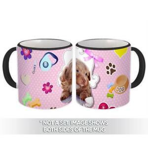 Gift Mug : Dog Pet Animal Puppy Funny Cute Pink Polka Dots
