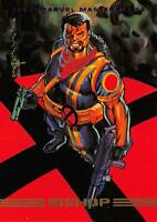 BISHOP / 1993 Marvel Masterpieces BASE Trading Card #57