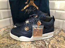 Nike Air Jordan 4 IV Retro Premium Obsidian Pinnacle Rose Gold 819139-402 SZ 9.5