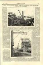 1892 extensión de obras de agua Teignmouth ciudad De Azúcar funciona Tate teleférico de Plata