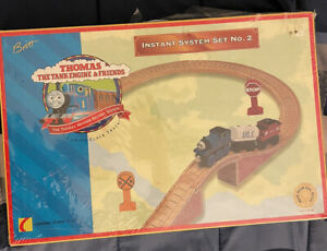 Thomas The Tank Engine Wooden Railway 1996 Instant System Set Number 2 No.2 New