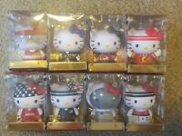 Hello Kitty 2020 TEAM USA KIDROBOT Vinyl Mini Figure  Set of 8
