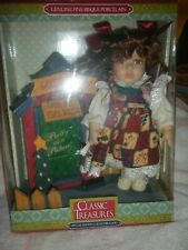 Classic Treasures Special Edition Genuine Fine Bisque Porcelain Doll.
