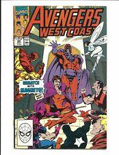AVENGERS WEST COAST # 60 (JULY 1990), FN+