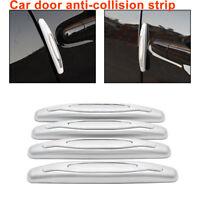 4x Car Rubber Door Edge Guard Bumper Corner Protector Anti-collision Strip G