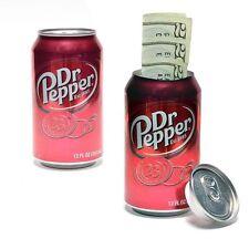 Dr Pepper Soda Safe Diversion Stash Can Hidden Secret Jewellery Box Container