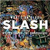 SLASH / GUNS N AND ROSES - WORLD ON FIRE VINYL LP ALBUM BRAND NEW SEALED