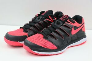 Nike Air Zoom Vapor X Tennis HC AA8030-006 Federer Solar Red Womens Multi-Size