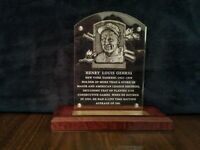 Lou Gehrig New York Yankees Replica HOF Acrylic Plaque Etched NEW MINT