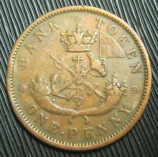 JETON - ONE PENNY TOKEN 1857 - BANK OF UPPER CANADA