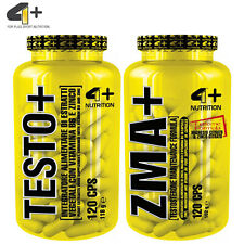 TESTO & ZMA Pills Muscle Growth & Recovery Strong Anabolic Testosterone Boosters