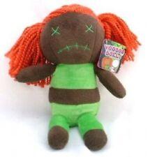 "Voodoo Doll  Plush 5"" Girl with Orange Hair goth vamp darkside horror"