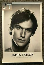 "JAMES TAYLOR- ""JT"" -Original-1977-Columbia Records-Store Poster-33""x22""-MINT"