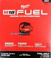 NEW IN BOX Milwaukee M18 FUEL 2737-20 Jigsaw Brushless Cordless 18 Volt 18V