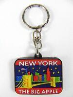 New York Llavero Ee.uu. Big Apple, 9 cm, Nuevo
