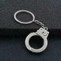 Men's New Gift Key Chains Keychain Keyfob Keyring Police Handcuff V0K0 M1K2 E6T9