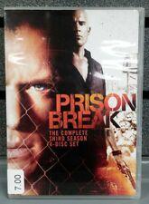 Prison Break | Complete 3rd Season | DVD | Pre-Owned | Ships Fast