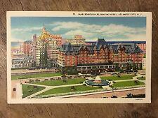 Marlborough Blenheim Hotel, Atlantic City USA Postcard. Ref015