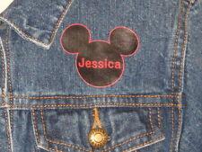Disney Member Mickey Mouse Club Jean Denim Jacket Personalized Jessica Medium