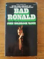 BAD RONALD by John Holbrook Vance 1st Edition AUTOGRAPHED