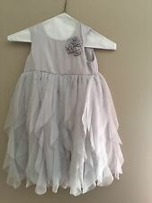 Carter's Toddler Girl Beautiful Gray Sleeveless Dress Size 4T