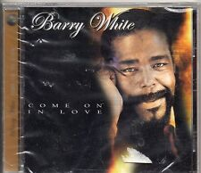 BARRY WHITE CD made in ITALY - COME ON IN LOVE nuovo SIGILLATO seales