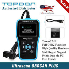 Topdon OBD CAN Car EOBD OBD2 II Automotive Scanner Engine Diagnostic Scan Tool