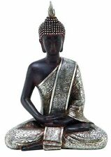 Buddha Sitting Statue Home Peace Decor Harmony Figurine Meditating Thai Buddhist