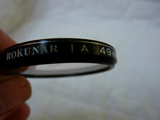 Rokunar 49mm 1A Skylight Filter Made In Japan, Very Good Condition