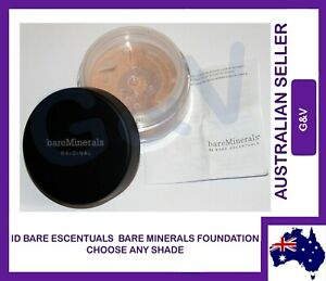 Bare Minerals - id BareMinerals Escentuals - CHOOSE ANY ONE FOUNDATION