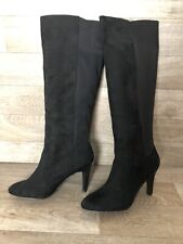 New Look Faux Suede Knee High Boots Party Size 6 EUR 39
