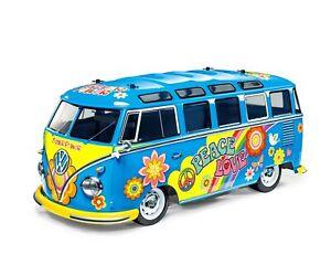 Tamiya 1:10 RC Auto VW Bus Type 2 T1 Flower Power