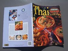 THAI Cooking Step-by-Step FAMILY CIRCLE 112 pages large paperback vgc