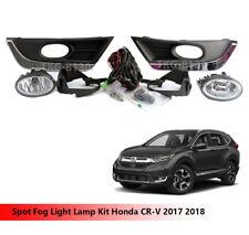 Spot Fog Light Lamp Kit For Honda CRV CR-V 2017 2018