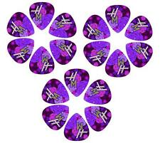 Disney Hannah Montana Guitar Picks- 6 Tear-drop shaped picks, HMPIK6 ^3